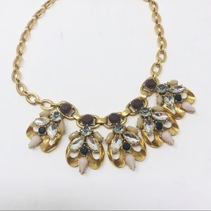 J Crew Statement Necklace Chunky Gold Chain